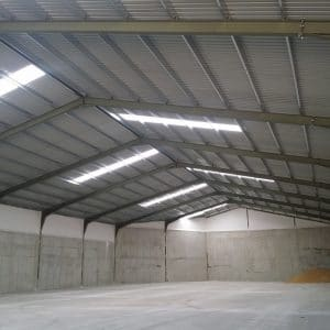 Naves industriales Concreto